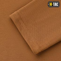 M-Tac поло тактическое длинный рукав 65/35 Coyote Brown