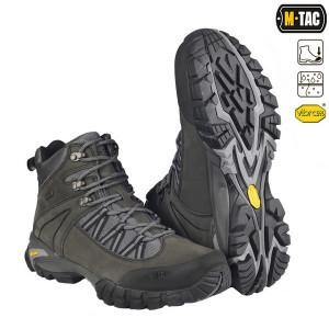 M-Tac Ботинки тактические Nashorn темно-серые