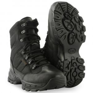 M-Tac ботинки тактические зимние Thinsulate черные