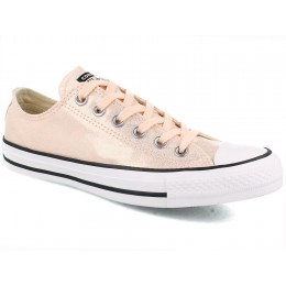Женские кеды Converse Chuck Taylor All Star Ox Washed Coral/Black/White 563412C